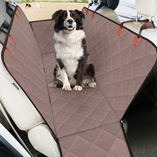 Acare Premium Car Seat Cover for Dogs, Back Seat Cover for Pets Hammock 5-Layers-100 Waterproof Scratch Proof Nonslip Backing, Well Quilted, Durable for Trucks and SUVs