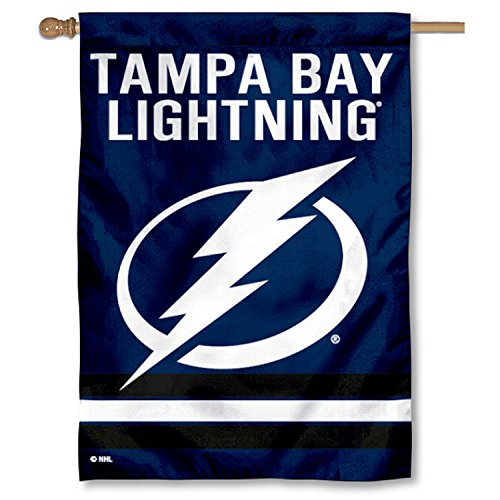 Lightning Banner - WinCraft Tampa Bay Lightning Two Sided House Flag