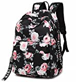 FLYMEI School Backpack College Bookbag Laptop Bag Shoulder Daypack Casual Travel Bags for Teen Girls and Women