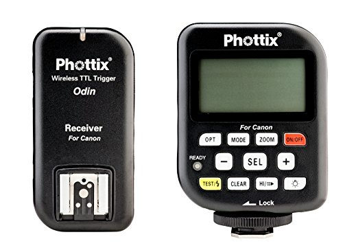 Phottix Odin TTL Wireless Flash Trigger Set v1.5 for Canon (PH89060) by Phottix