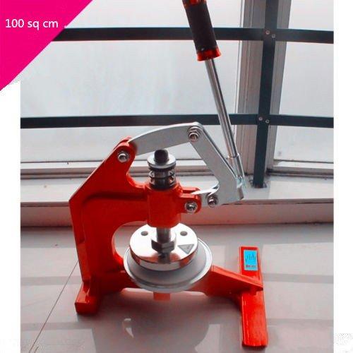100 sq cm? Round Sample Cutter Pressure type sampling knife hand pressure disc sample 0.1mm-10mm by YJINGRUI