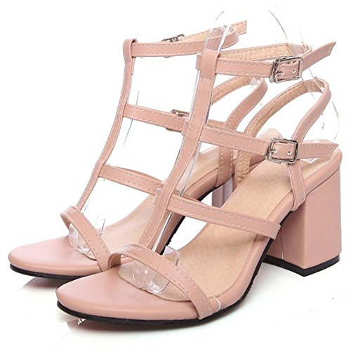 Femmes T Pink Chaussures Strap pu VulusValas Sandales Od851nq