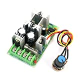 DC 10-60V 20A PWM Motor Speed Control Module w Rotary Potentiometer