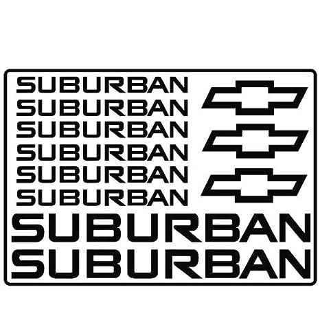 2x got suburban Sticker Die Cut Decal vinyl