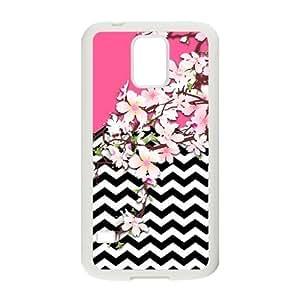 Nymeria 19 Customized Vintage Flower Pattern Diy Design For Samsung Galaxy S5 Hard Back Cover Case DE-295
