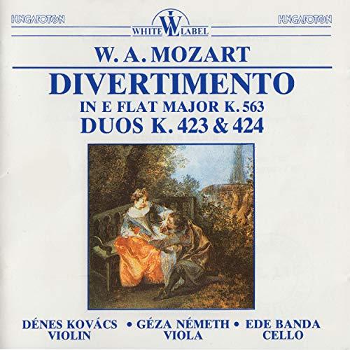 Trio Divertimento in E Flat Major K. 563 - Duos K. 423 and 424 (Divertimento In E Flat Major K 563)