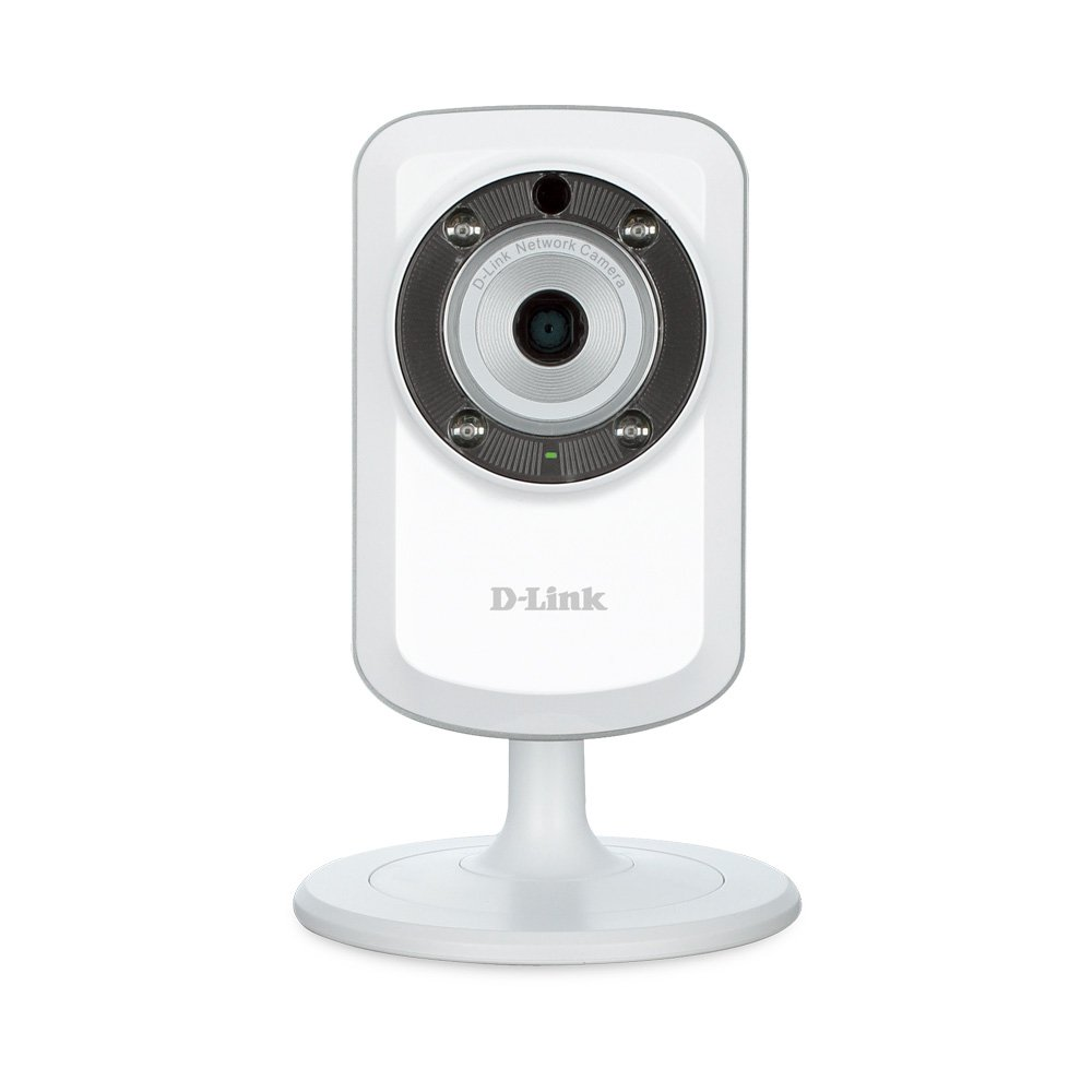 D-Link DCS-933L Day & Night Wi-Fi Security Camera with Sound and Motion Detector (Certified Refurbished)