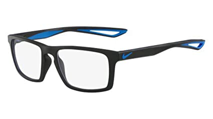 7f8e6e9c1f Amazon.com  Eyeglasses NIKE 4280 016 BLACK PHOTO BLUE  Sports   Outdoors