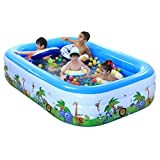 LQQGXL,Bath Large Inflatable Bathtub / Pool Pool Child / Baby / Pool Pool with Electric Pool (256 168 55cm) Inflatable bathtub