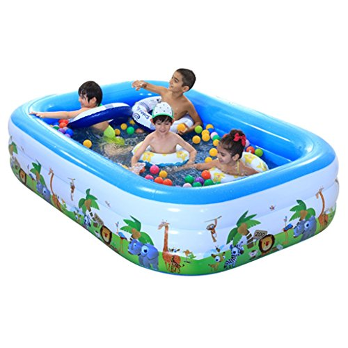 LQQGXL,Bath Large Inflatable Bathtub / Pool Pool Child / Baby / Pool Pool with Electric Pool (256 168 55cm) Inflatable bathtub by LQQGXL