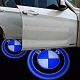 2 pack LED Laser Projector for BMW Logo Step Door Courtesy Welcome Light Ghost Shadow