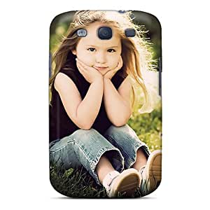 Awesome Sweet Lady Flip Case With Fashion Design For Galaxy S3