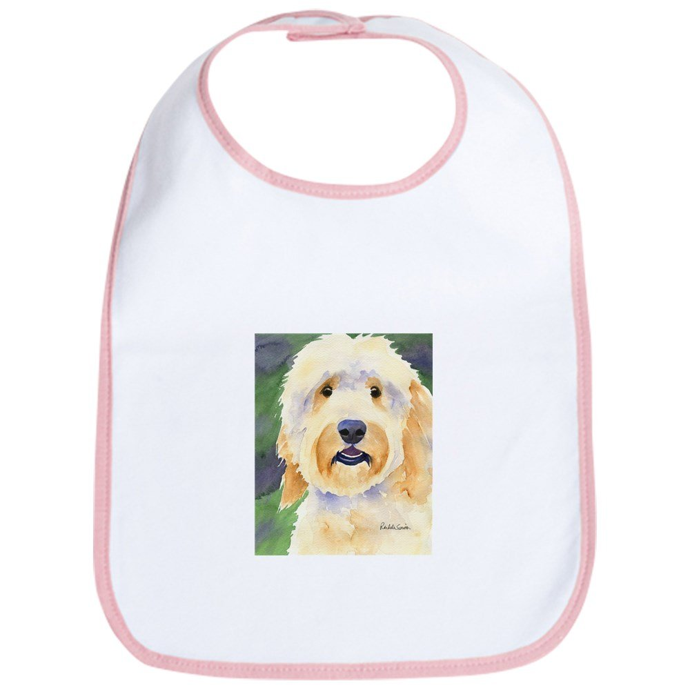 CafePress - Goldendoodle Bib - Cute Cloth Baby Bib, Toddler Bib