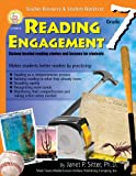 Reading Engagement, Grade 7, Janet P. Sitter, 1580372910