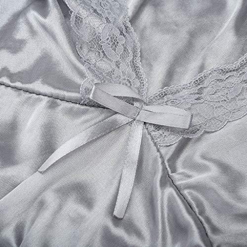 BOLUOYI Lingerie Plus Size Babydoll Nightwear Set Women Chemise Sleepwear by BOLUOYI (Image #9)