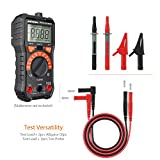 Meterk 5 in 1 Electronic Test Leads Kit, Digital Multimeter Leads with Alligator Clips, Test Extension, Test Probe, Plunger Mini-hooks Replaceable Test Meter