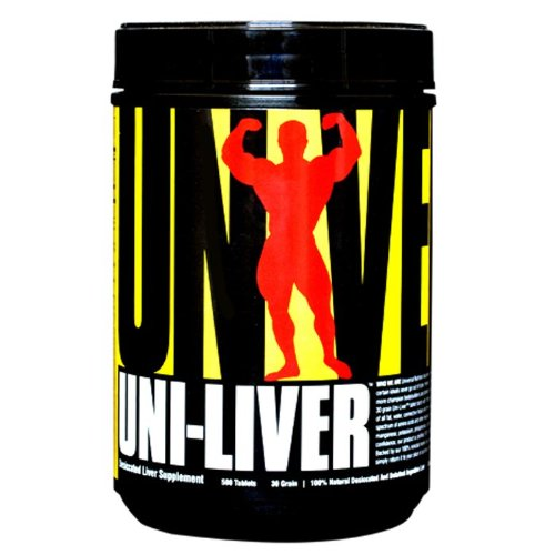 Universal Uni-Liver Tablets, 500-Count Bottles