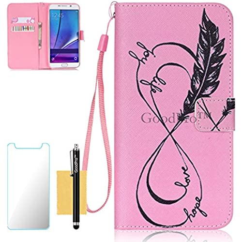 S7 Case, Galaxy S7 Case, GoodPro(TM); (Pictures Wallet) (Curve Graph) Wallet Case Wristlet PU Leather Wallet Case For Samsung Galaxy S7, (+Screen Sales