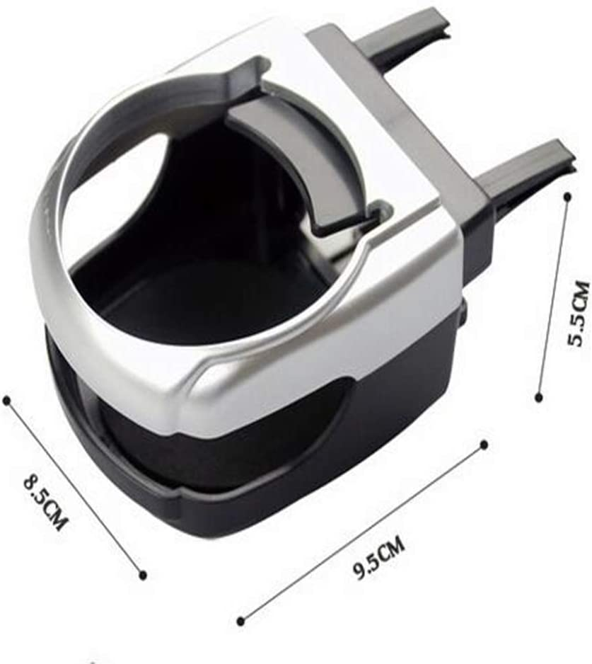 Ogquaton Porte-gobelet Universel Auto Voiture V/éhicule Air Condition Outlet Porte-gobelet 1Pcs Ruban Cr/éatif et utile
