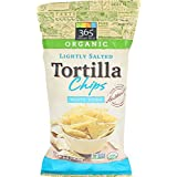 365 Everyday Value, Organic Lightly Salted Tortilla Chips, White Corn, 16 Ounce