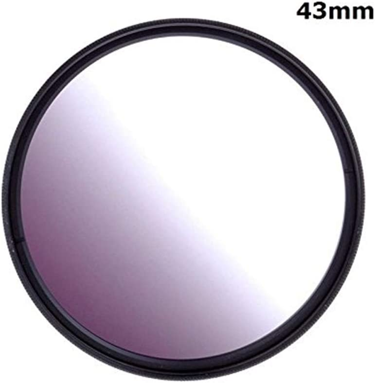 30mm 1pcs 30mm 37mm 40.5mm 43mm 46mm 49mm 52mm 55mm 58mm 62mm 67mm 72mm 77mm 82mm Graduated Grey Gradual Color Lens Filter Protector