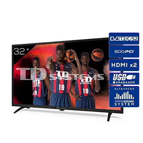 🥇 Televisiones 32 Pulgadas HD 3X HDMI
