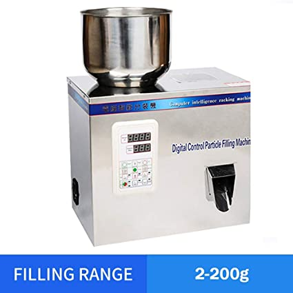 2-200g Particle Powder Subpackage Filling Filler Machine Herb Automatic Weighing