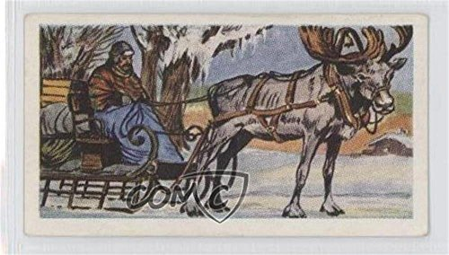 Reindeer Sleigh COMC REVIEWED Good to VG-EX (Trading Card) 1961 Coopers Transport Through the Ages - Tea [Base] (Sleigh Base)