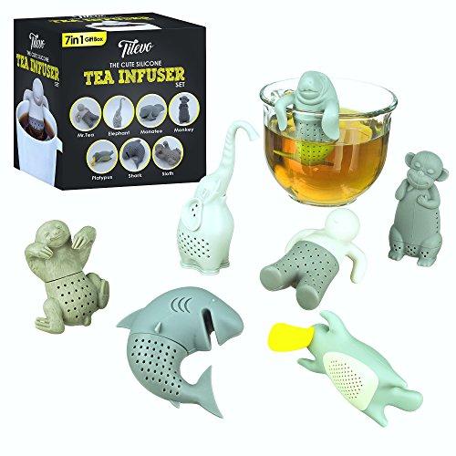 Tea Infuser, The Cute Loose Leaf Silicone Tea