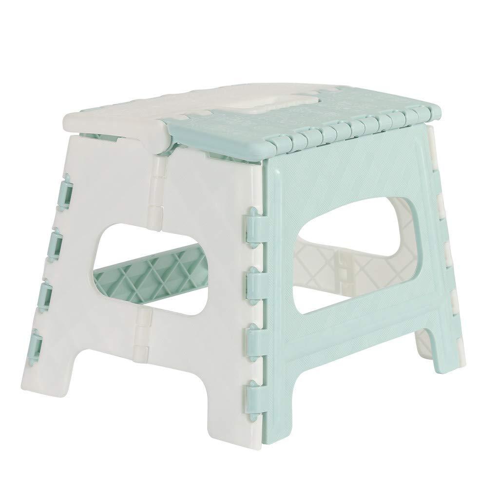 Home /& Garden Kitchen,Dining /& Bar,Plastic Multi Purpose Folding Step Stool Home Train Outdoor Storage Foldable
