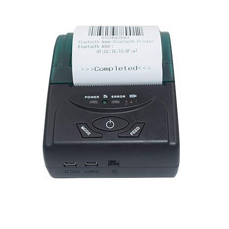 58MM USB + Bluetooth Wireless POS Impresora de recibos ...