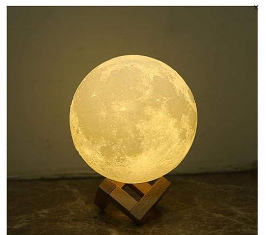 Regalos Para Tu Novia Originales Luna Lampara Moon Lamp 3D Luz De ...