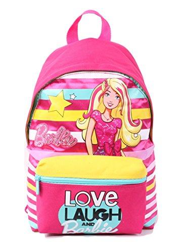 Seven Barbie 216001605-310 Zaino da Scuola, Small, 10 litri, Poliestere, Multicolore