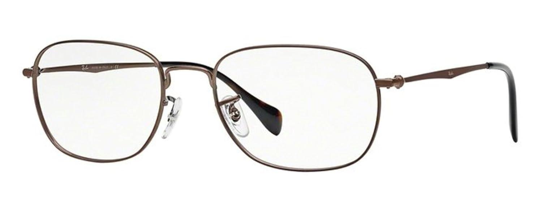 25ccbc30fe7 Amazon.com  Ray Ban RX6273 Eyeglasses-2756 Dark Opal Brown-51mm  Shoes