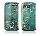 Motorola Atrix 2 Decal Phone Skin Decorative Sticker w/ Matching Wallpaper - Almond Branches in Bloom