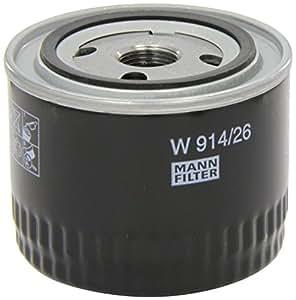 Mann-Filter W 914/26 Filtro de Aceite