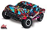 Traxxas (HRP) Automobile 1 10-Scale 2WD Short Course Racing TQ 2.4GHz System Radio Control Truck - Hawaiian