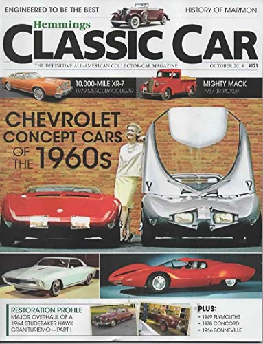 Hemmings Classic Cars Magazine, October 2014 (Vol 11, No 1, Issue No 121)