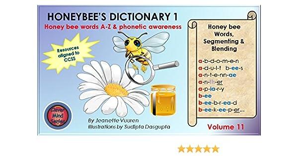 Amazon.com: Honeybee's Dictionary 1 Volume 11, honey bee facts ...