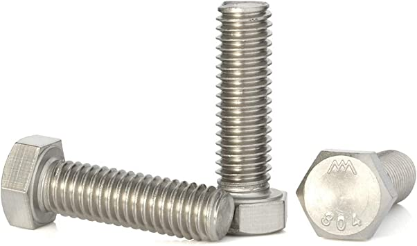 10 pieces Stainless 3//4-10 x 4-1//2 Hex Head Bolts 304 Stainless Steel 1-1//2 To 6 Lengths Available in Listing 3//4-10 x 4-1//2