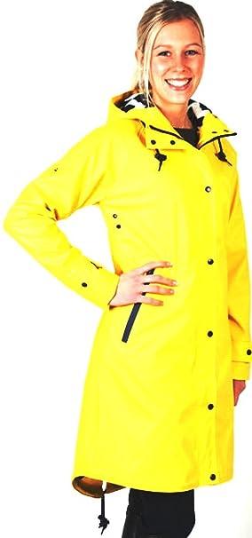 PFIFF Abrigo de Lluvia Nace para Mujer Resistente al Agua Chaqueta Forro Polar, año,