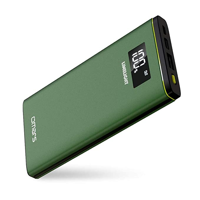 USB C Power Bank Omars 10000mAh USB-C Portable Charger with 18W Power  Delivery Battery d18aaa532d5a