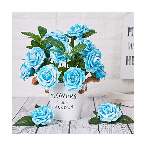 Marry-Acting-Artificial-Flower-Rose-30pcs-Real-Touch-Artificial-Roses-for-DIY-Bouquets-Wedding-Party-Baby-Shower-Home-Decor