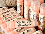 20 KISS The Miss Goodbye Mimosa Flavored Lip Balms for Bridal Showers and Bachelorette Parties