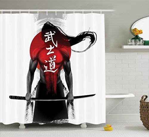Black Japanese Fabric - 2