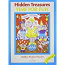 Hidden Treasures: Time for Fun - Hidden Picture Puzzles