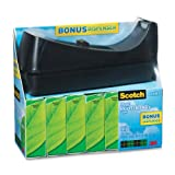 Scotch Brand Magic Greener Tape with C38 Desktop Dispenser, 3/4 x 900 Inches, Boxed, 6 Rolls, 1 Dispenser (812-6PC38)