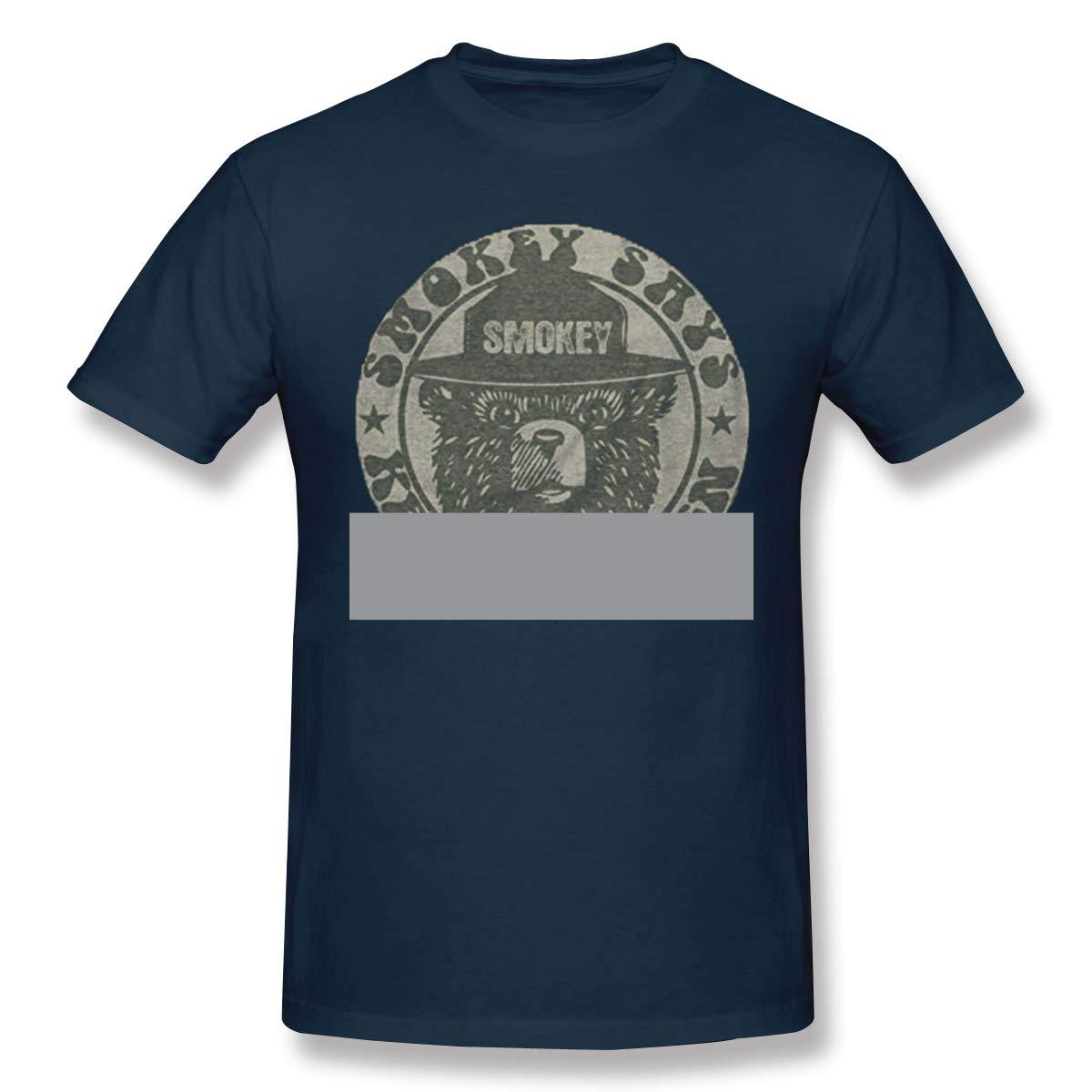 S Keep It Green Retro Smokey Bear Classic Navy Ts Shirts