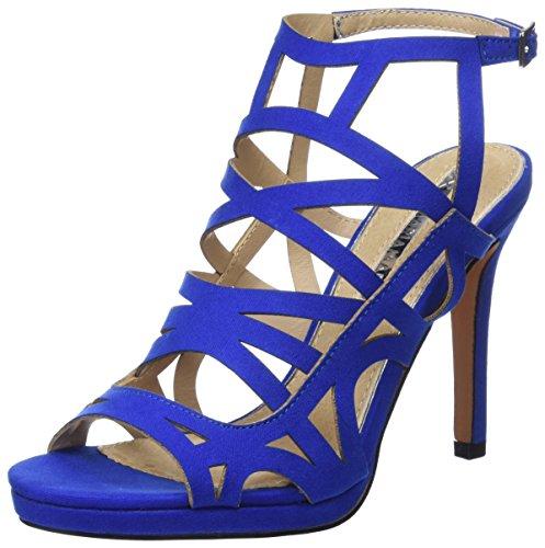 Sandalen Maria Damen Cobalto Blau Azalea Afelpado Peeptoe Mare FzPgfqzIOa