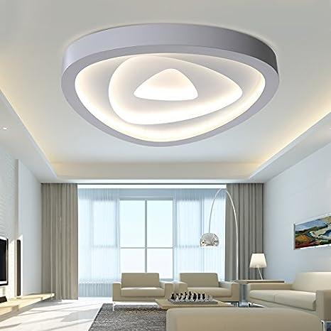 Angelo Lockers lámparas de techo-El salón con luz simple y ...